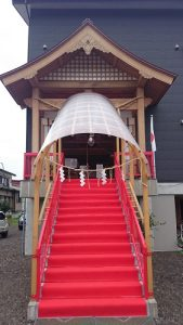 小千谷・石動神社・神前結婚式