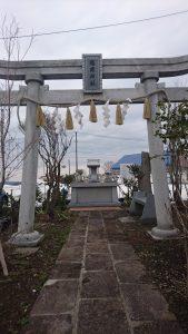 小千谷・石動神社・境内・神社