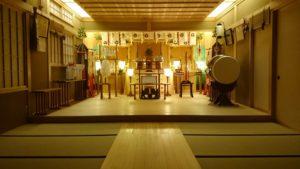 小千谷・石動神社・神殿ーフェイスブックページ