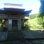 小千谷・石動神社・蘭木村・石動社・拝殿
