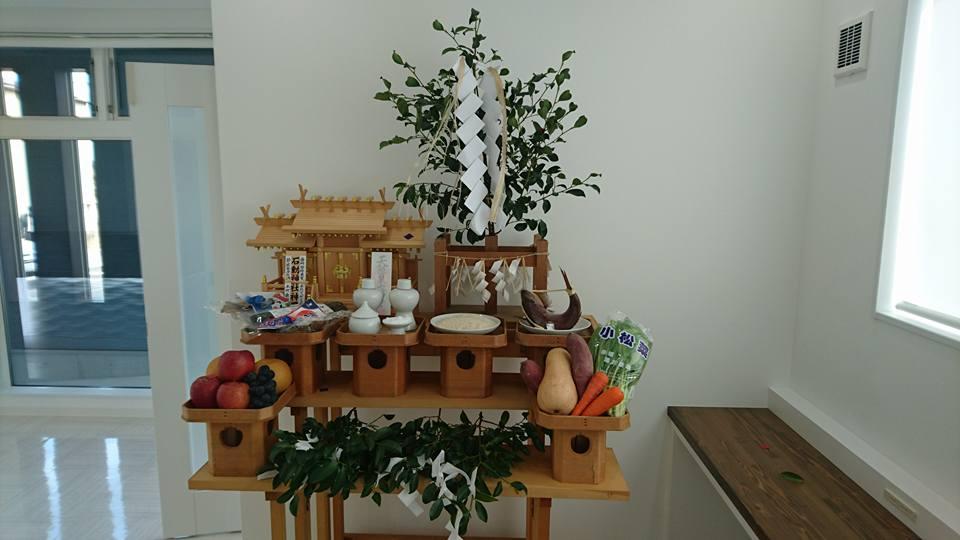 小千谷・石動神社・竣工式・事務所開設