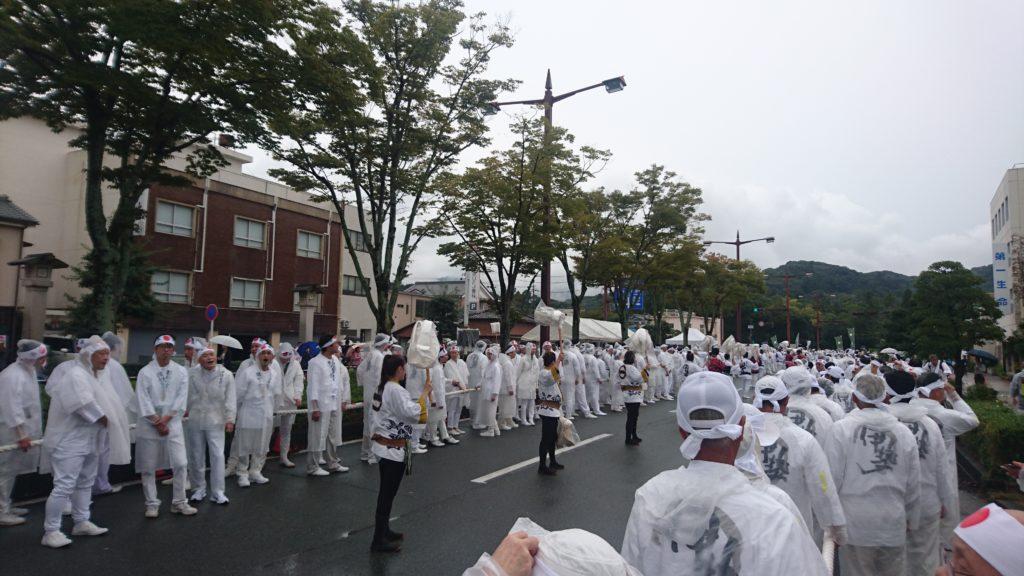 伊勢神宮・初穂曳・木遣り2