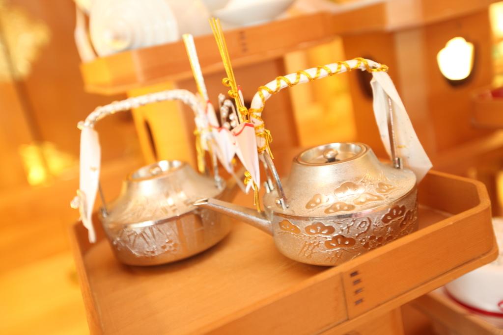 石動神社・神前結婚式・提子