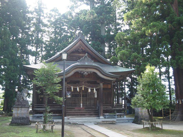 鎮守の社(もり)様より、奉務神社を紹介していただきました。