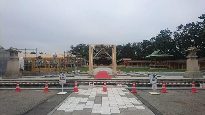 『新潟縣護國神社・春季大祭』