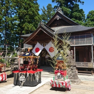『桜町・伊米神社』