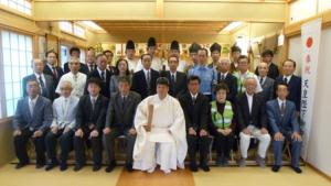 小千谷・石動神社・交通安全祈願祭・新潟県神道青年協議会