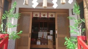 小千谷・石動神社・七夕・短冊・笹飾り・織姫・彦星